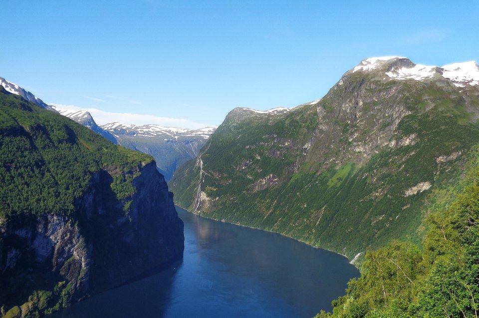 Geschichte der Wikinger: Norwegisches Fjord