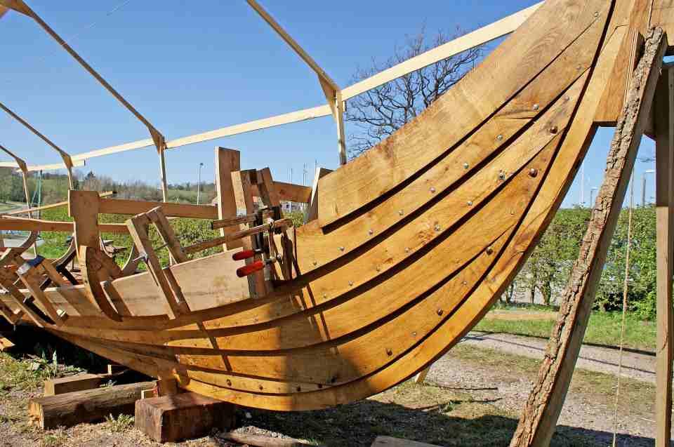 Schifffahrt & Schiffsbau der Wikinger: Schiffsbau