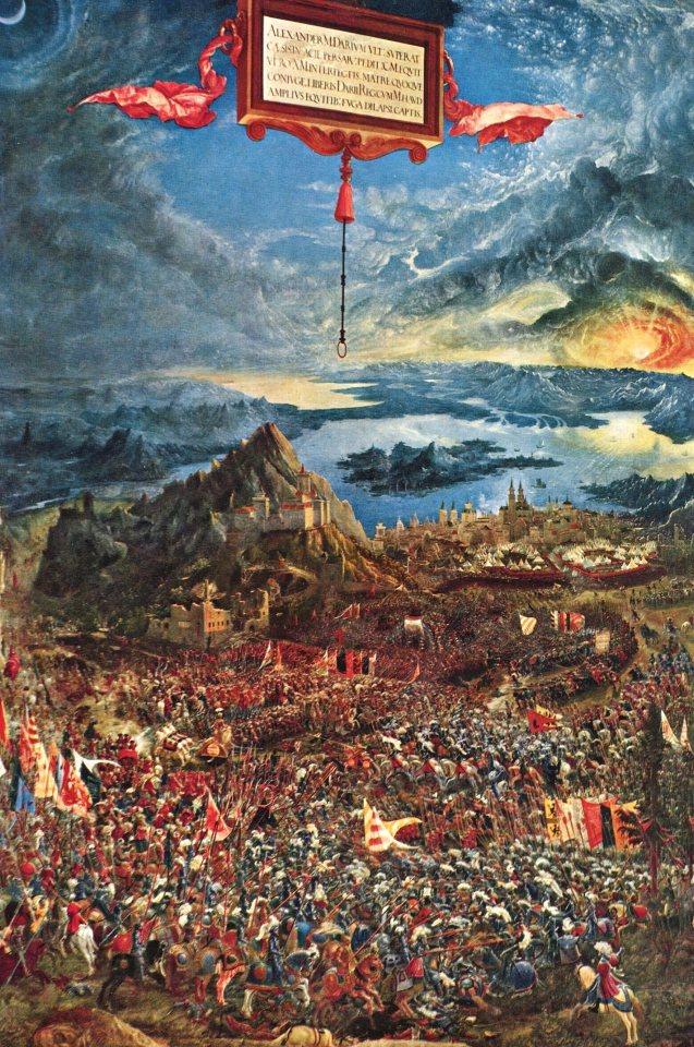 Das Kriegsheer Alexanders: Schlachtengemälde Alexander der Grosse