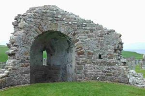 Steinreste einer Burg