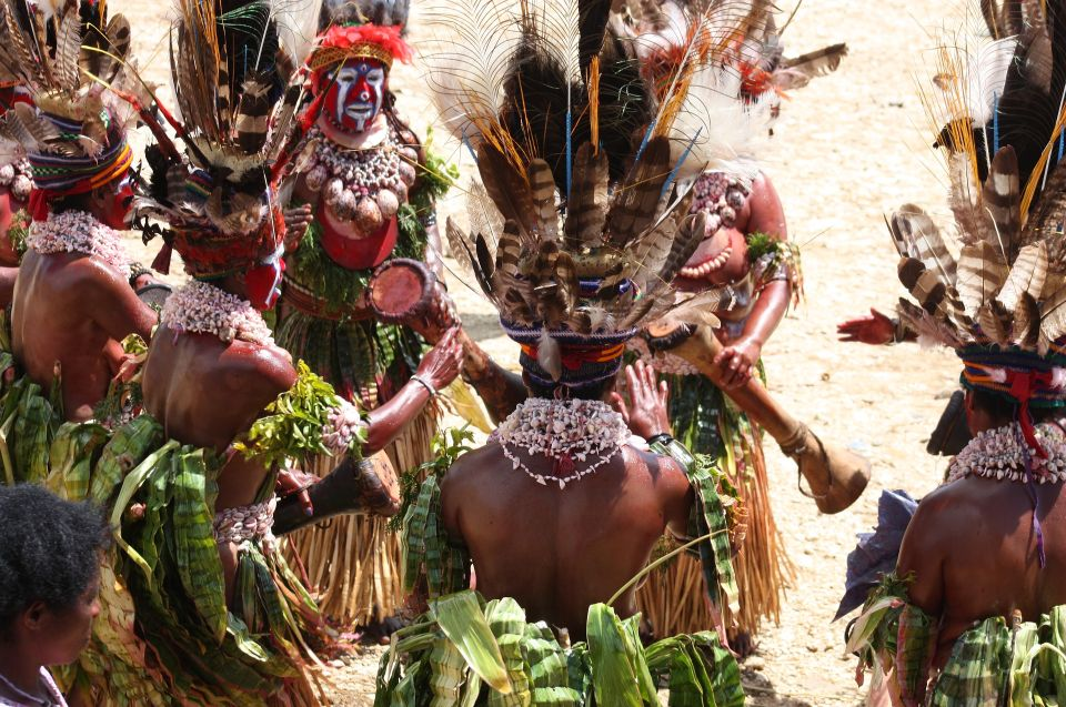 Neuguinea Heimat der Eipo - Ritual