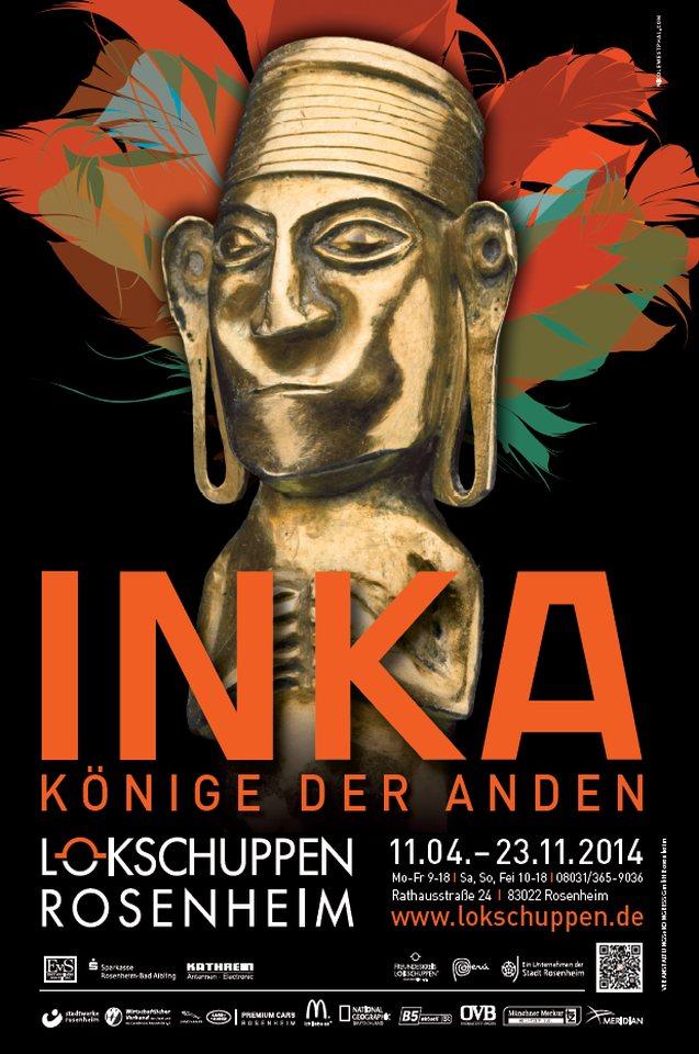 Plakat Ausstellung Inka 2014