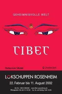 Ausstellungsplakat Tibet 2002