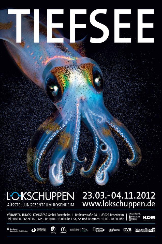 Ausstellungsplakat Tiefsee 2012