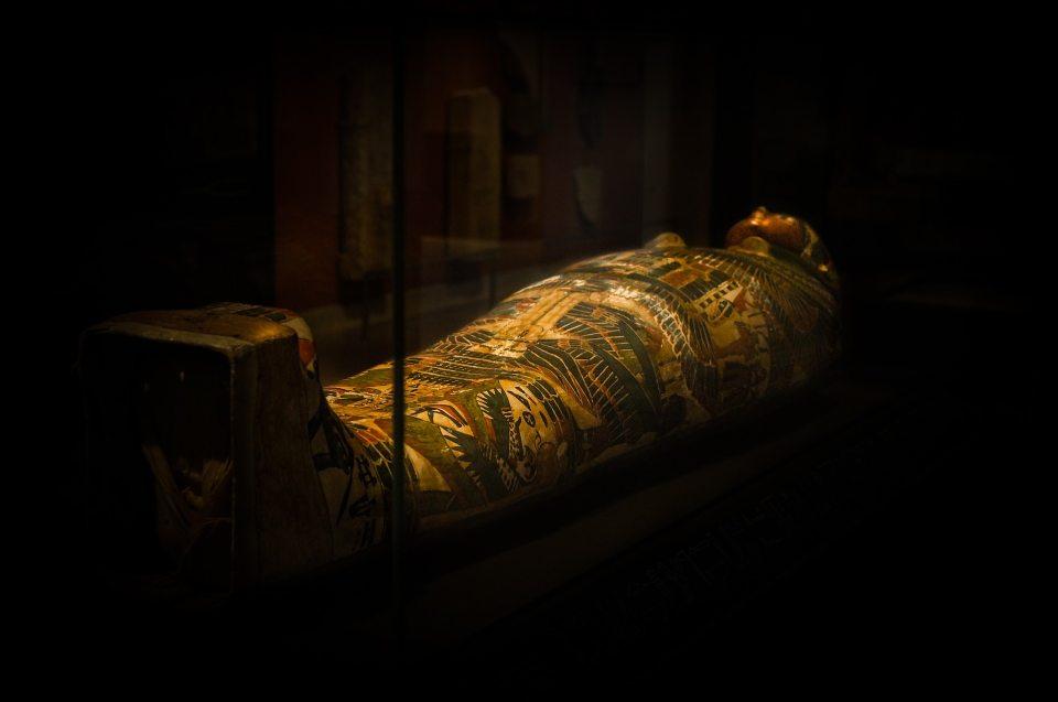 Tod- und Jenseitsvorstellungen: Sarkophag