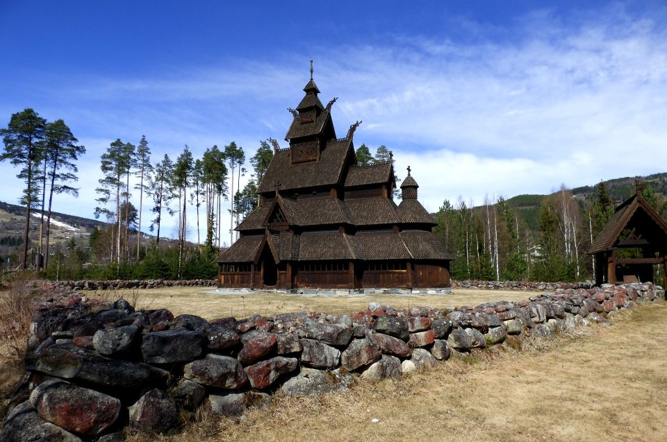 Christianisierung der Wikinger: Stabkirche