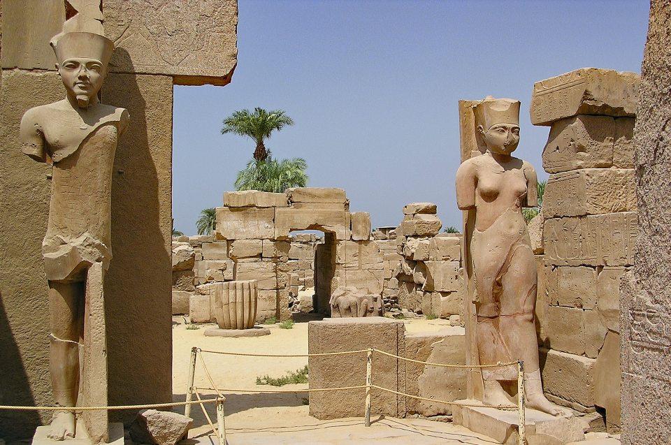 Herrscher, Tempel und Pyramiden: Tempel Karnak