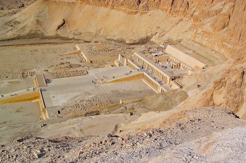 Totentempel der Pharaonin - Hatschepsut