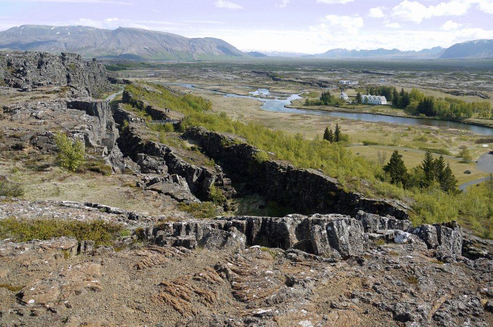 skandinavische Landschaft karg