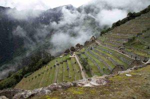 Machu Picchu Terassenbau