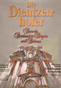 Plakat Dienzenhofer