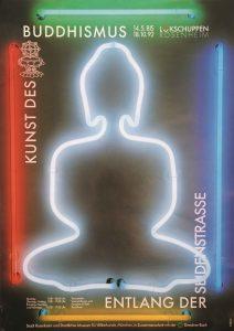 Plakat Kunst des Buddhismus