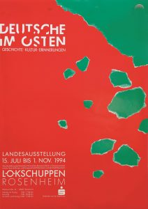 Plakat Deutsche im Osten