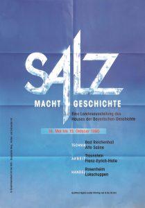 Plakat Salz