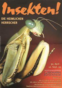 Plakat Insekten