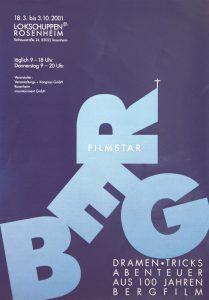 Plakat Bergfilm