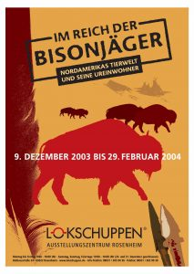 Plakat Bisonjäger