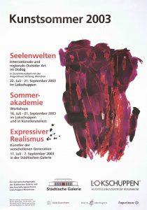 Plakat Kunstsommer