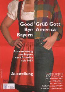 Plakat Good Bye Bayern