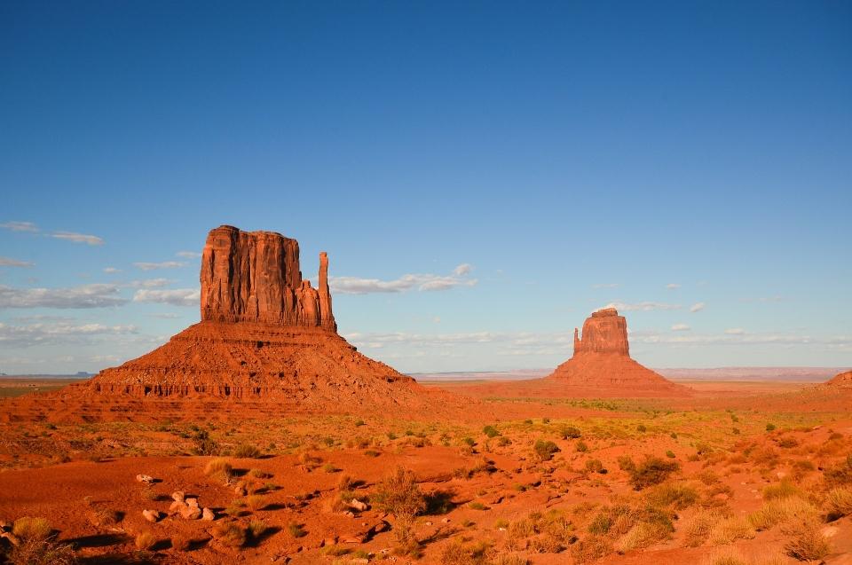 Wüstenlandschaft - Allgemeines zu Indianer