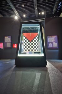 Schachbrettunku Ausstellung Inka © Juliane Böttcher