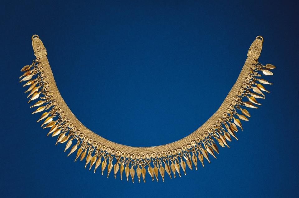 goldenes Flechtband © München, Staatliche Antikensammlungen und Glyptothek München - Foto: Renate Kühling
