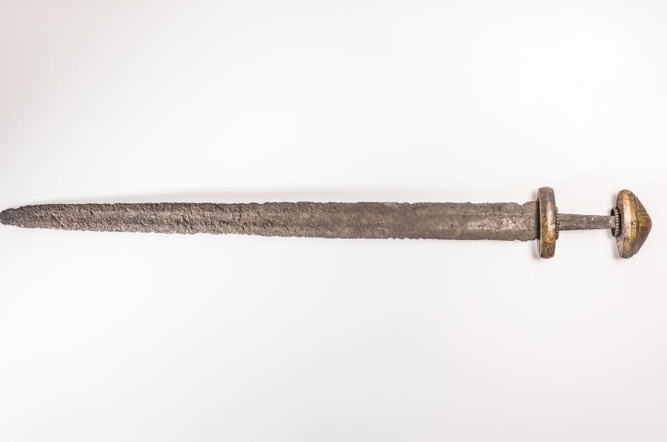 Prachtschwert aus dem 9. Jh. © Lunds Universitets Historiska Museum - Foto: Andreas Jacob