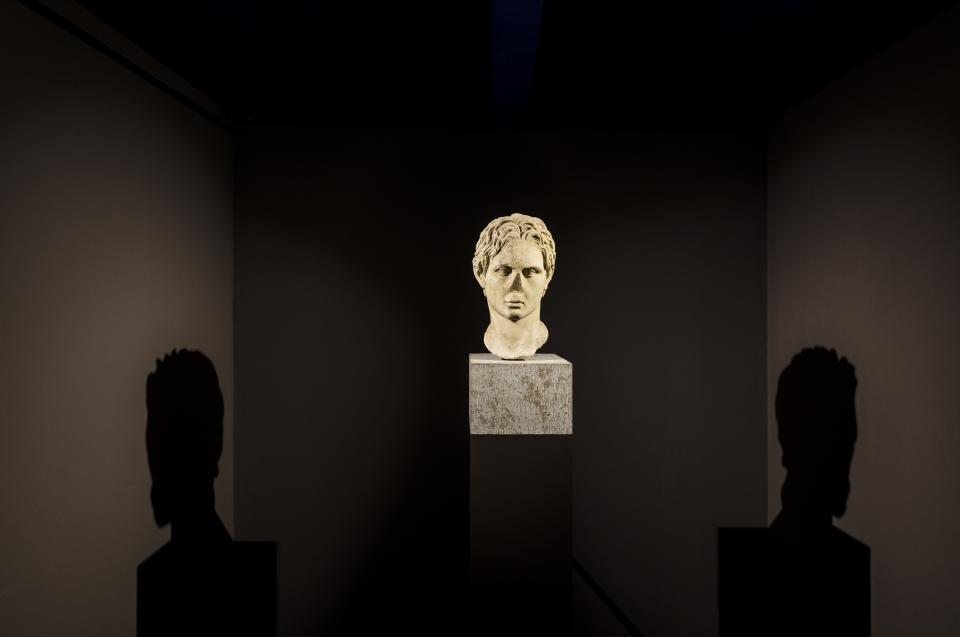 Alexander Büste Alexander Ausstellung - Copyright: Andreas Jacob
