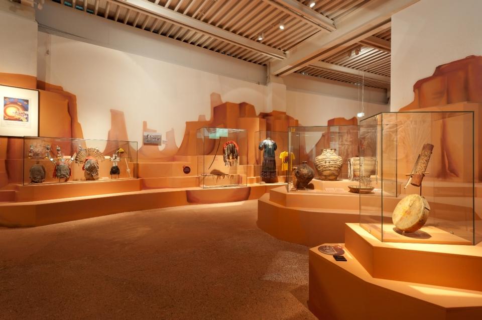 Ausstellungsraum Appache Comanche Indianer Ausstellung - Copyright: Andreas Jacob