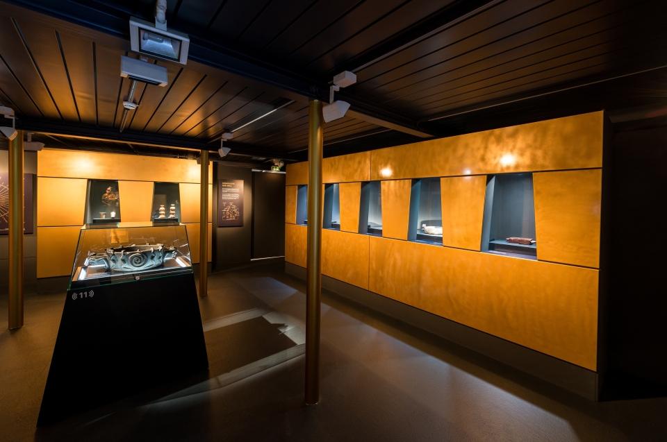 AustellungsraumInka Gold Inka Ausstellung - Copyright: Andreas Jacob