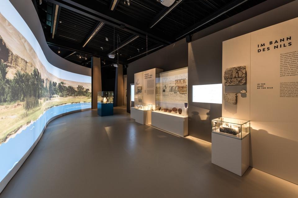 Ausstellungsraum Nil Pharao Ausstellung - Copyright: Andreas Jacob