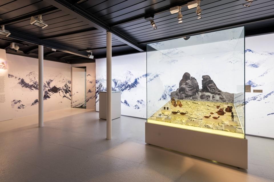 Ausstellungsraum Kinderopfer Inka Ausstellung - Copyright: Andreas Jacob