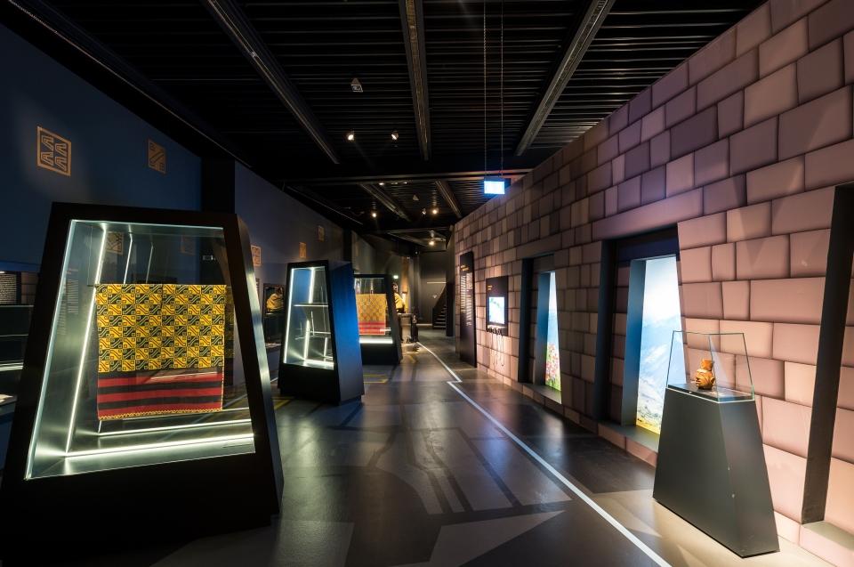 Ausstellungsraum Mauerkunst Inka Ausstellung - Copyright: Andreas Jacob