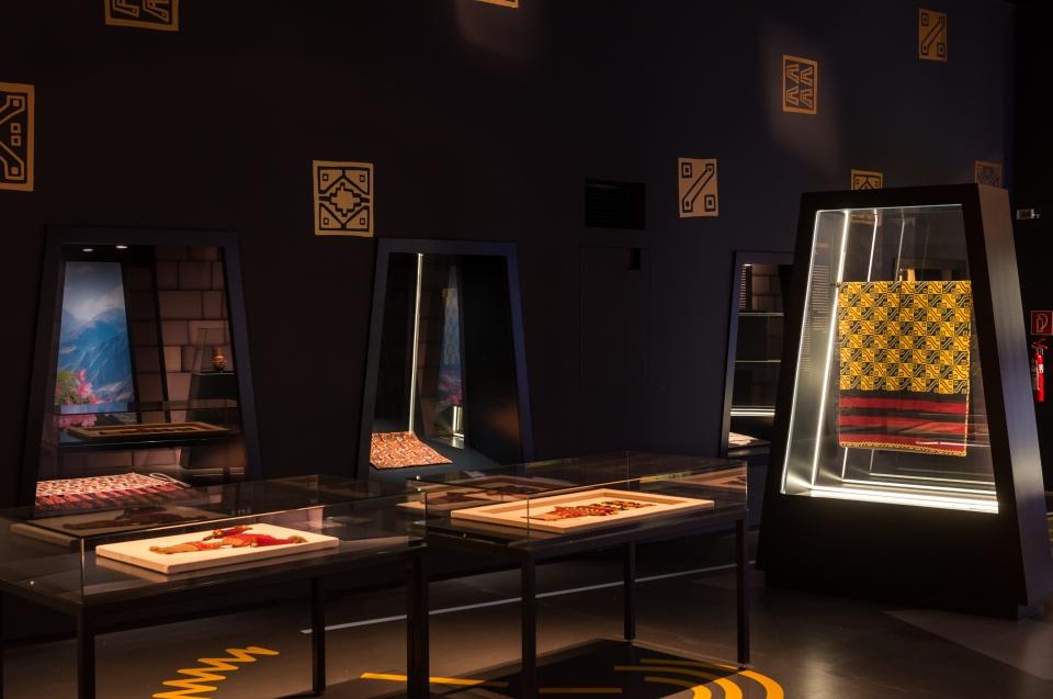 Ausstellungsraum Uncus Inka Ausstellung - Copyright: Andreas Jacob