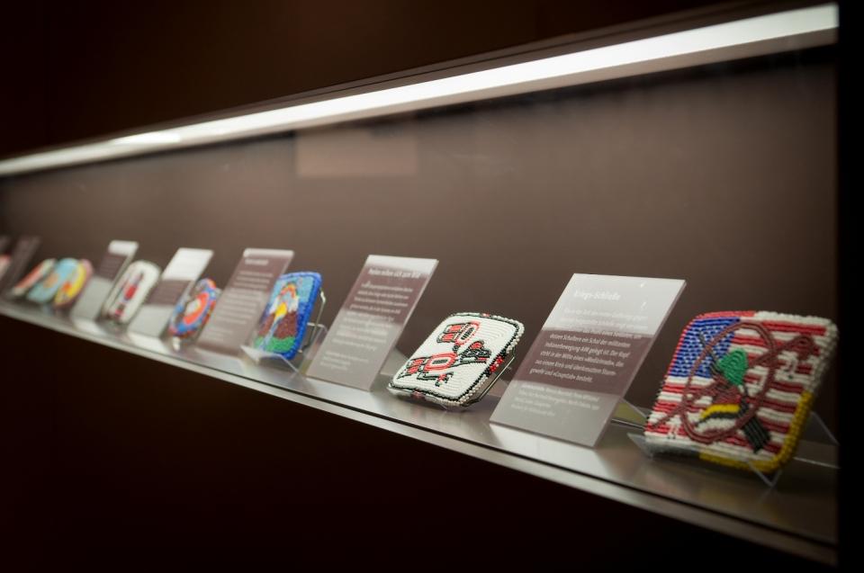Gürtelschließen Indianer Ausstellung - Copyright: Andreas Jacob