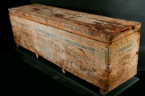 Kastensarg des Nacht, Holz, Spätzeit © King`s Museum, University of Aberdeen, ABDUA: 22156, Foto: Jens Klocke