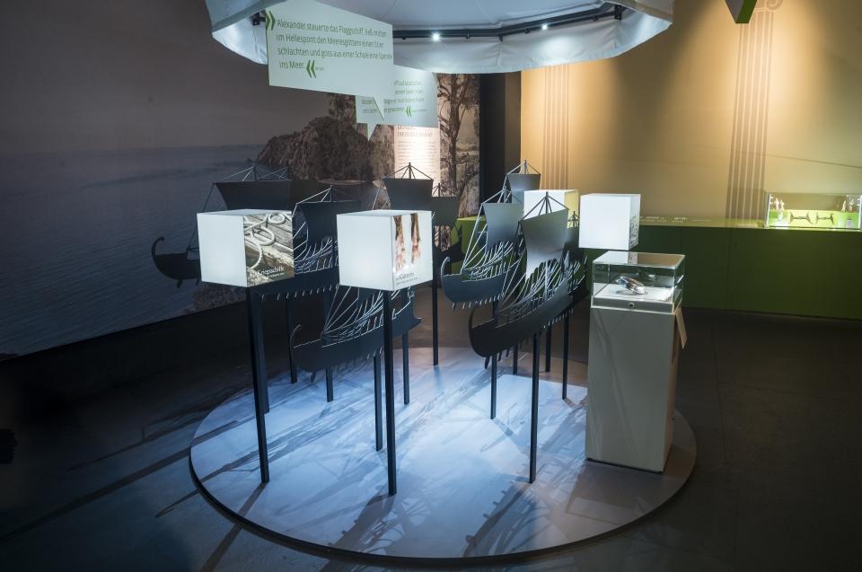 Schiffsilhouetten Ausstellung - Copyright: Andreas Jacob