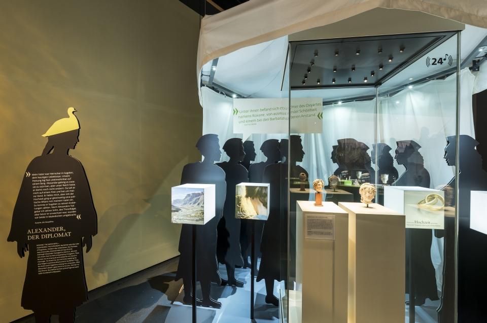 Raumeindruck Alexander Ausstellung - Copyright: Andreas Jacob