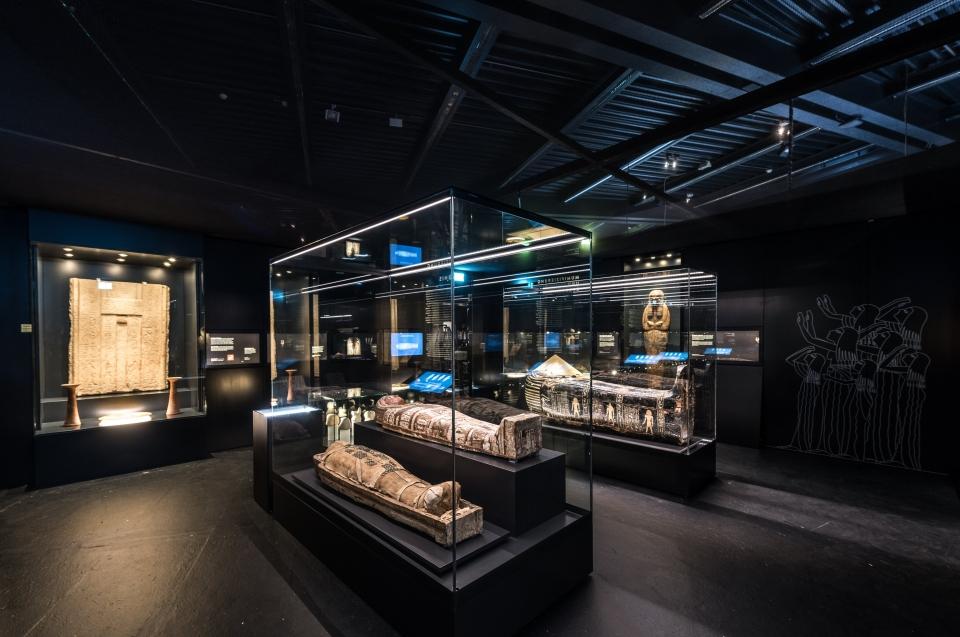Mumien und Sargraum Pharao Ausstellung - Copyright: Andreas Jacob