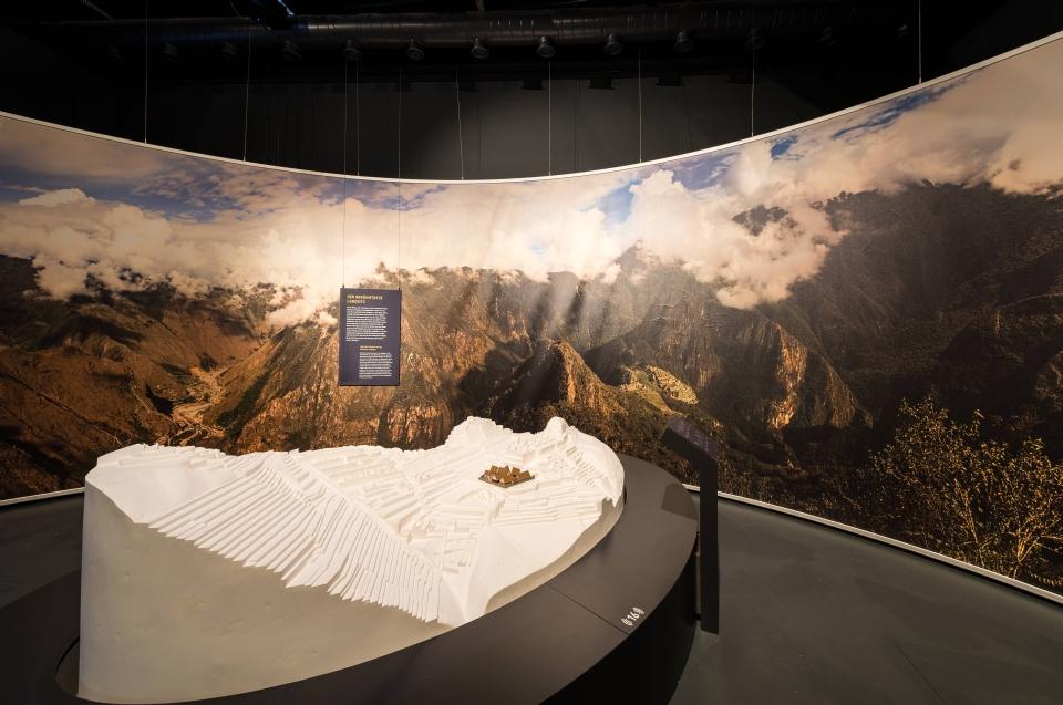 Modellnachbau Macchu PicchuInka Ausstellung - Copyright: Andreas Jacob