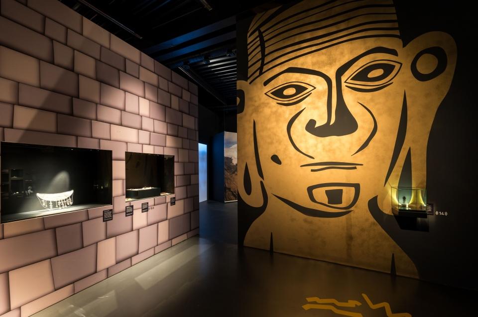 Orejon Grafiti Inka Ausstellung - Copyright: Andreas Jacob