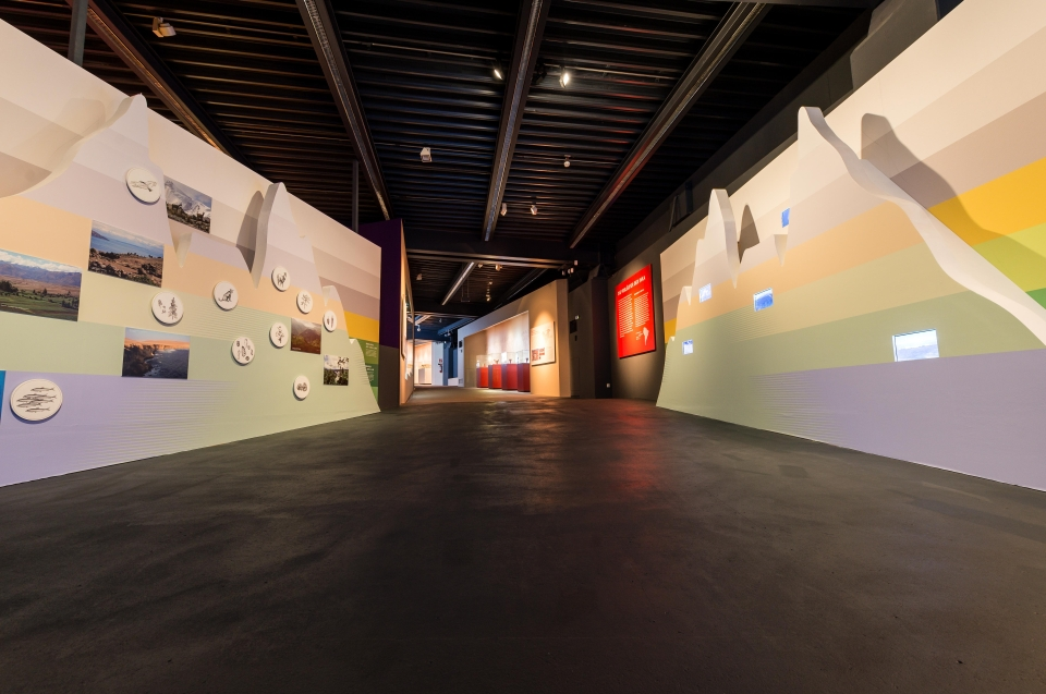 Profil Landschaft Anden Inka Ausstellung - Copyright: Andreas Jacob