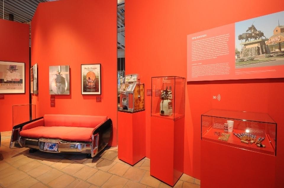 Raum die neuen Indianer Indianer Ausstellung - Copyright: Andreas Jacob