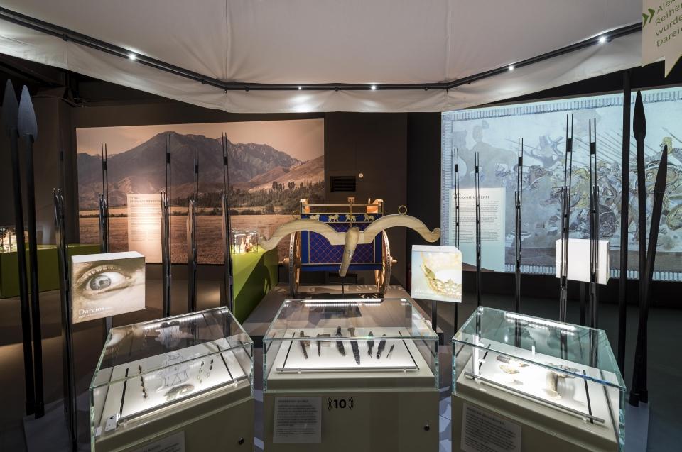 Rekonstruktion Streitwagen Alexander Ausstellung - Copyright: Andreas Jacob