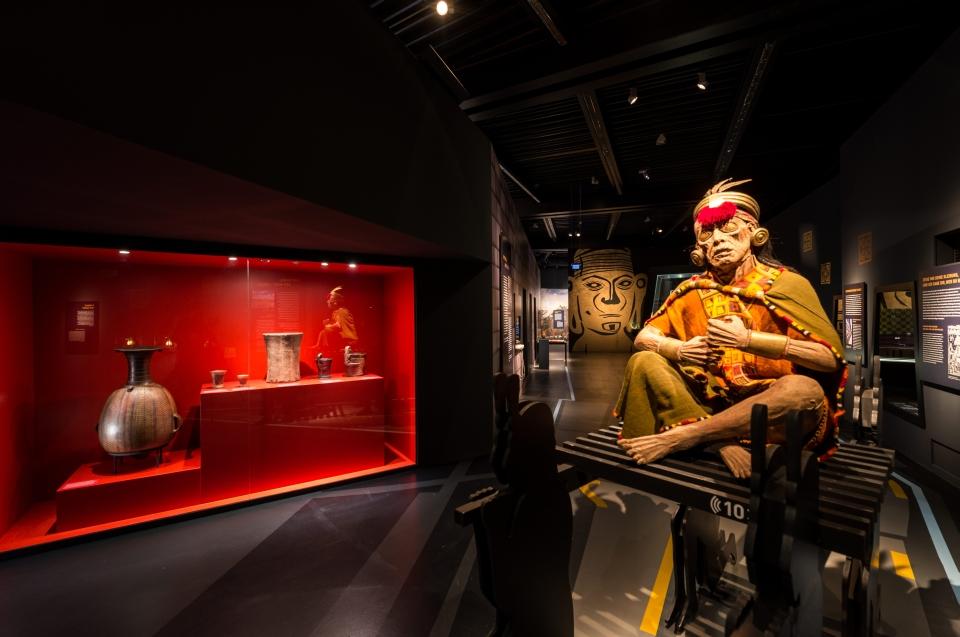Mumien Repliek Inka Ausstellung - Copyright: Andreas Jacob