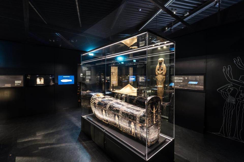 Sarkophag Pharao Ausstellung - Copyright: Andreas Jacob