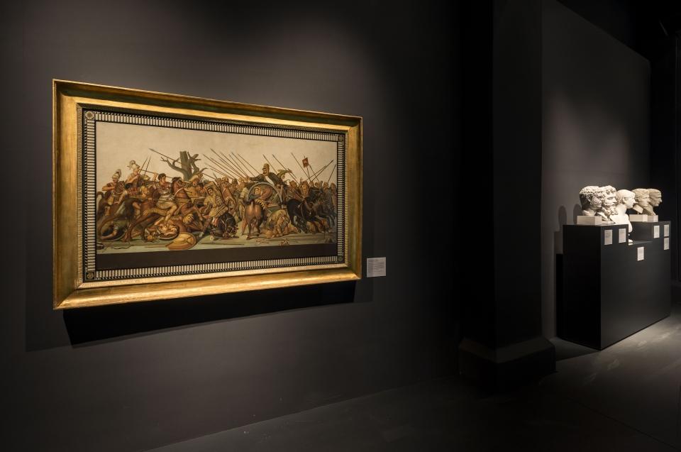 Schlachtengemälde Alexander Ausstellung - Copyright: Andreas Jacob