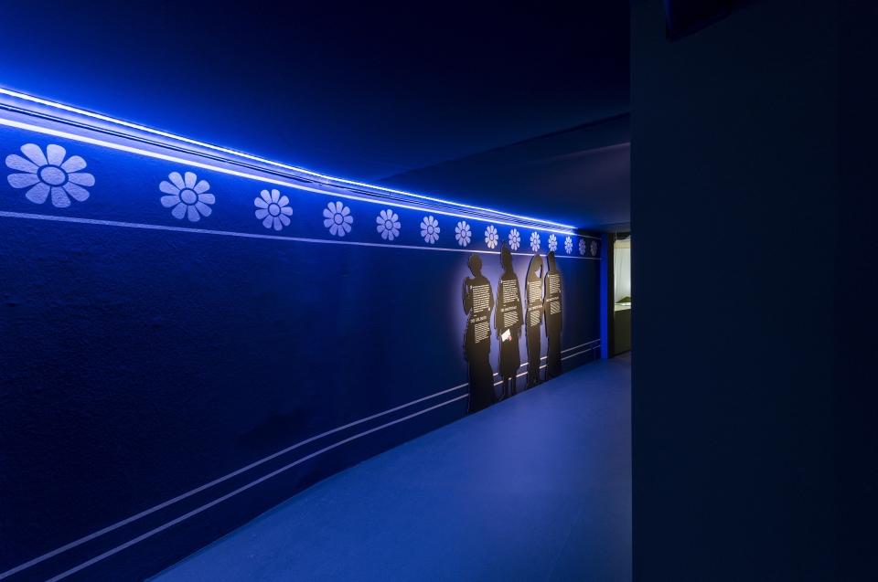 Silhouetten Frauen Alexander Ausstellung - Copyright: Andreas Jacob