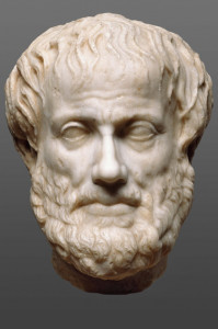Kopf des Aristoteles, 1. - 2. Jh. n. Chr. Römische Kopie nach einem griechischen Original des 4. Jh. v. Chr. © Kusnthistorisches Museum, Wien, Antikenabteilung
