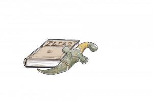 Illias und Dolch © VKR/ subbird Illustration, A. Schmied